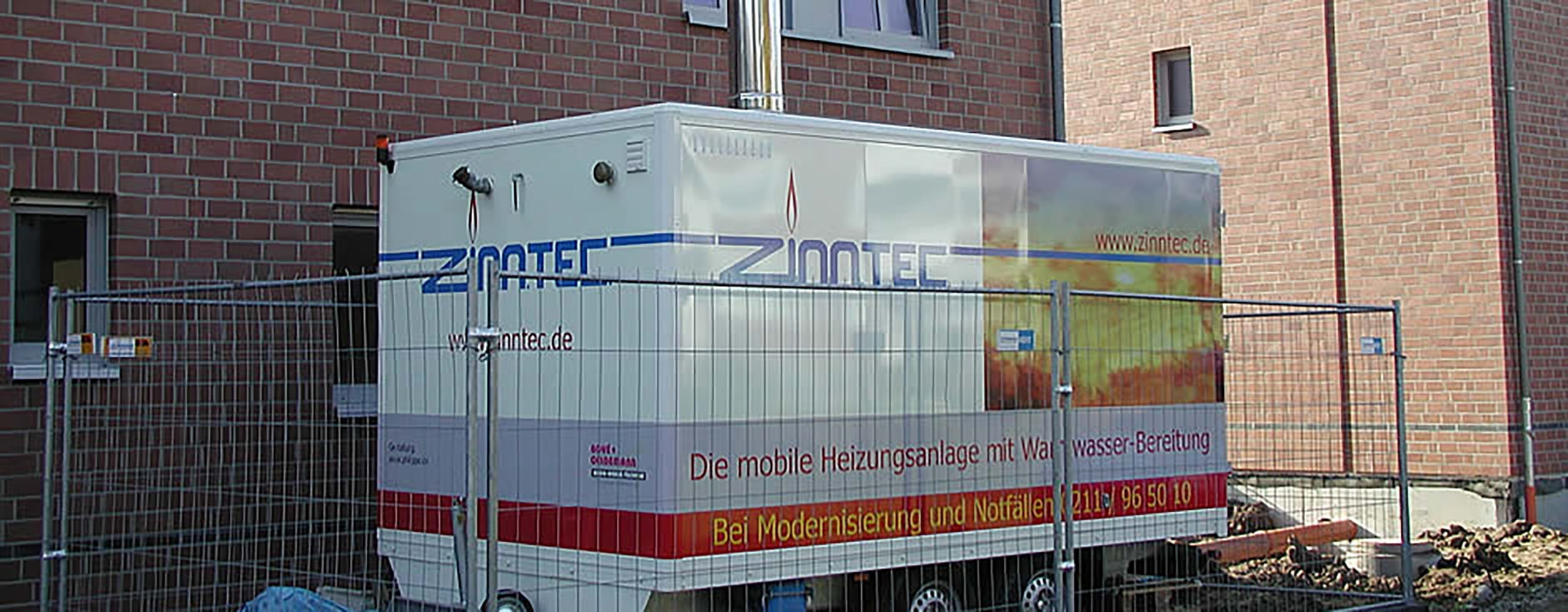 mobile Heizstation