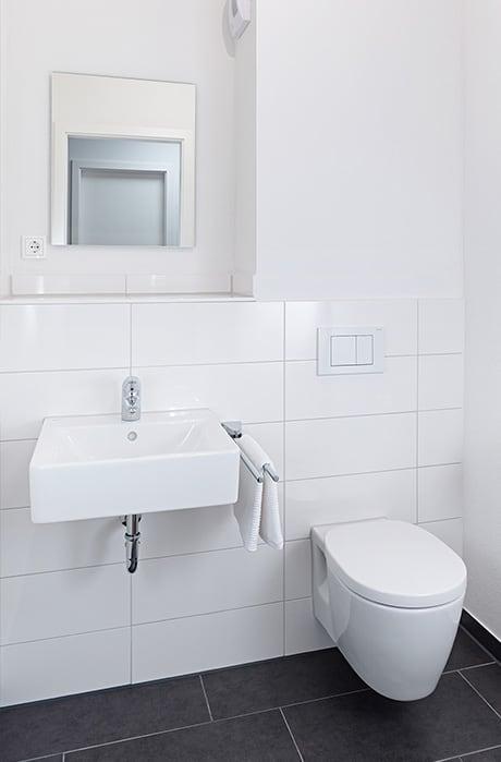 Badezimmer von Zinnenlauf